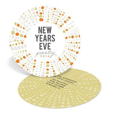 Dazzling Delight -- New Years Eve Invitations