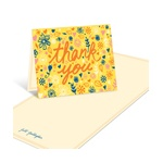 Sketched Floral Sentiments -- Baby Shower Thank You Cards