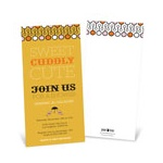 Sweet Poster in Orange -- Modern Personalized Baby Shower Invitations