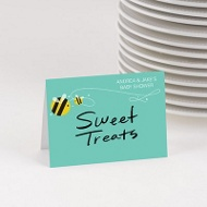 Honey Bee Table Cards Baby Shower Decorations
