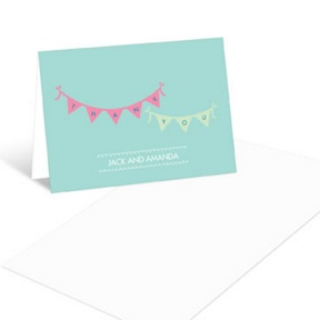 Baby Love-- Baby Shower Thank You Cards
