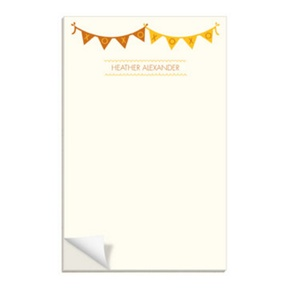 Sweetly Strung -- Custom Notepads