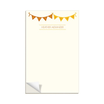 Sweetly Strung Custom Notepads