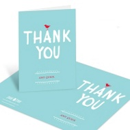 Nesting Instinct Baby Shower Thank You Cards