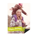 Flurries of Happiness -- Personalized Photo Magnets