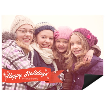 Flurries of Happiness -- Magnet Cards