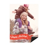 Flurries of Happiness -- Christmas Photo Magnets