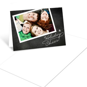Flowing Holiday Cheer -- Christmas Mini Note Cards