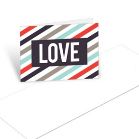 Bold Love -- Christmas Mini Note Cards