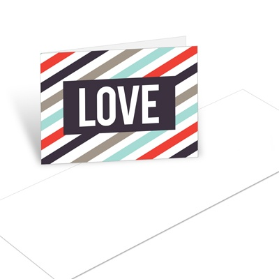 Bold Love Christmas Mini Note Cards