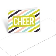 Bold Cheer Christmas Mini Note Cards