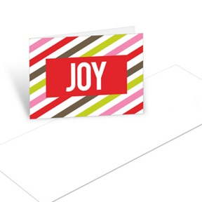 Bold Joy -- Christmas Mini Note Cards