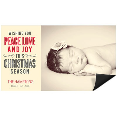 Read All About It Magnet Holiday Photo Cards