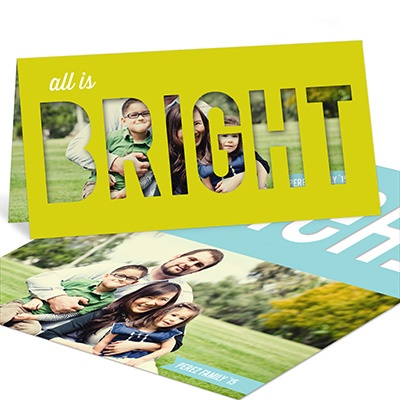 Making Seasons Bright -- Holiday Photo Cards
