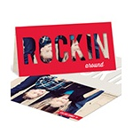 Rockin Style -- Unique Photo Holiday Cards