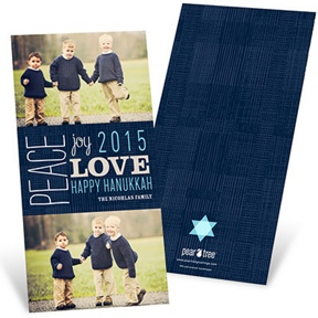 Sentiments of the Season -- Hanukkah Cards