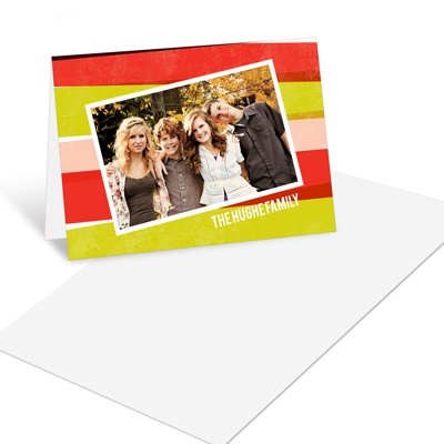 Watercolor Backdrop Christmas Mini Note Cards