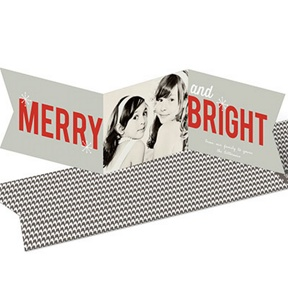 Seasonably Bright Photo Banner -- Christmas Cards