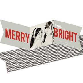Seasonably Bright Photo Banner -- Christmas Cards