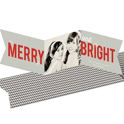 Seasonably Bright Photo Banner Photo Christmas Cards