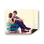 Simply Happy Horizontal Photo Magnet -- Hanukkah Cards