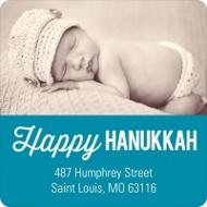 Bold Blessings Hanukkah Address Labels