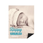Simply Happy Vertical Photo Magnet -- Hanukkah Cards