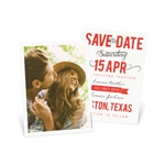 Creative Calligraphy -- Save the Date Cards