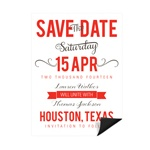 Creative Calligraphy -- Save the Date Magnets