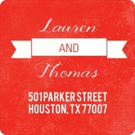 Scripted and Tabbed - Save the Date Address Labels