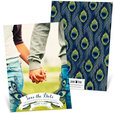 Birds of a Feather -- Save the Date Cards