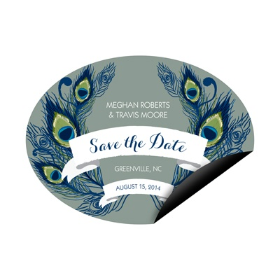 Birds of a Feather Save the Date Magnets