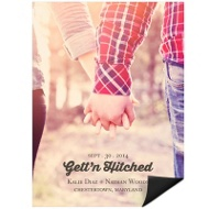 Gett'n Hitched Photo Save the Date Magnets