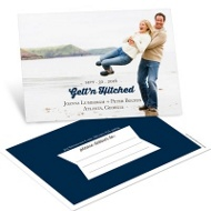 Gett'n Hitched Save the Date Postcards