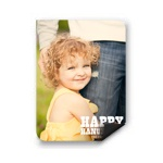 Chalked Message Vertical Photo Magnet -- Hanukkah Cards