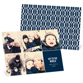 Crisp and Classic Christmas -- Holiday Photo Cards