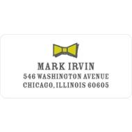 Gentleman's Style Address Labels