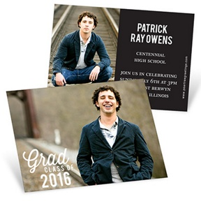 Favorite Photo -- Mini Graduation Announcements