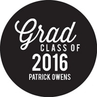 Grad With Class Personalized Stickers Graduation Party Decorations
