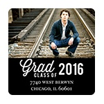 Favorite Photo -- Graduation Address Labels