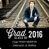 Favorite Photo Graduation Address Labels