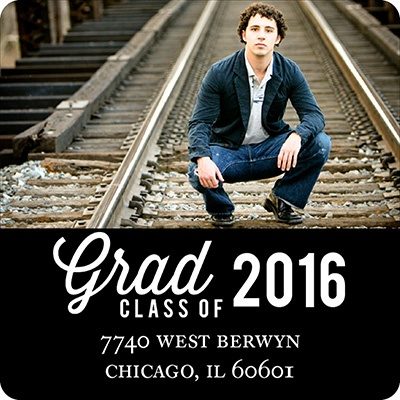 Favorite Photo Graduation Address Labels