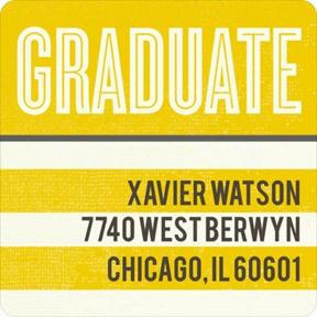 Big Plans -- Graduation Address Labels