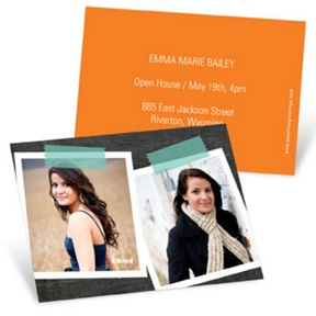 Big Impression -- Mini Graduation Announcements