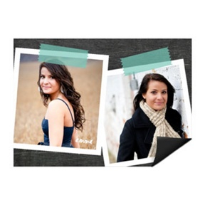 Big Impression Photo Magnet -- Mini Graduation Announcements