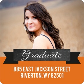 Big Impression -- Graduation Address Labels