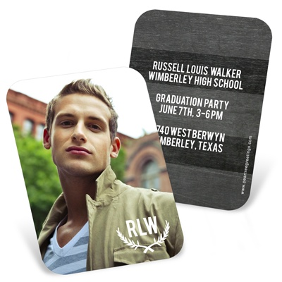 Chalk Monogram -- Profile Cards