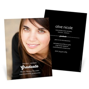 Perfect Photo -- Graduation Announcements