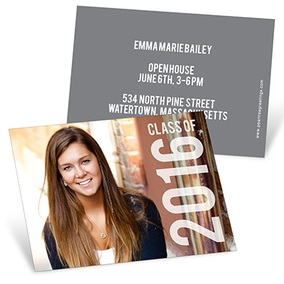 Big Year Mini Graduation Announcements