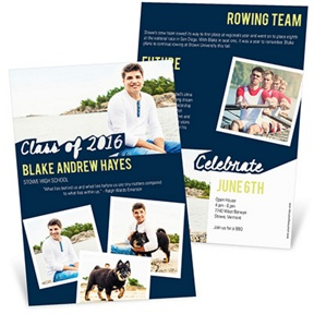 Photos With Class -- Graduation Announcements